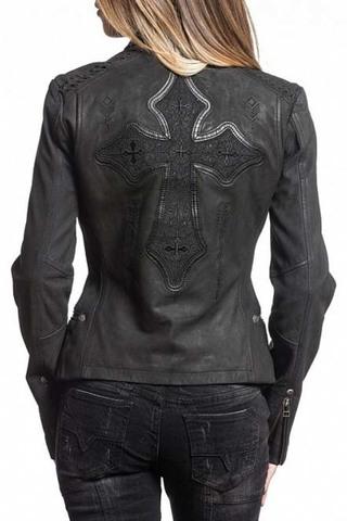Куртка кожаная Affliction