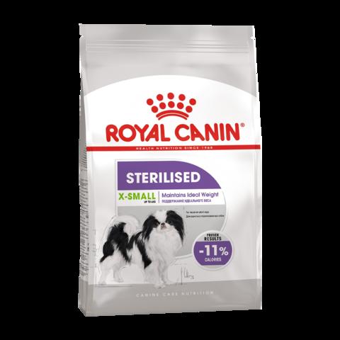 Royal Canin X-Small Sterilised Adult Сухой корм для стерилизованных собак миниатюрных пород