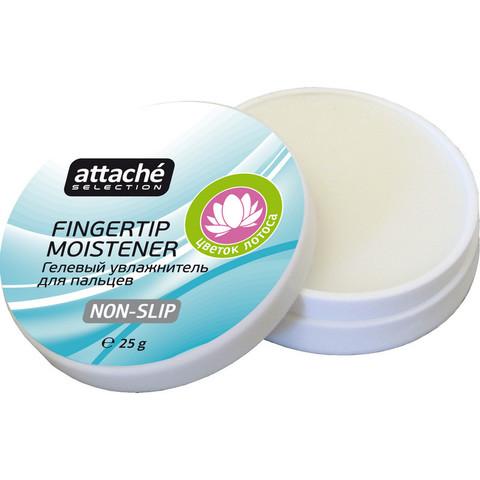 Подушка для смачивания пальцев гелевая Attache Selection цветок лотоса 25 г