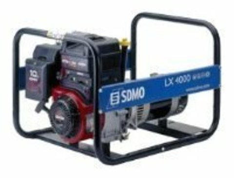 Кожух для бензинового генератора SDMO LX4000 (4000 Вт)