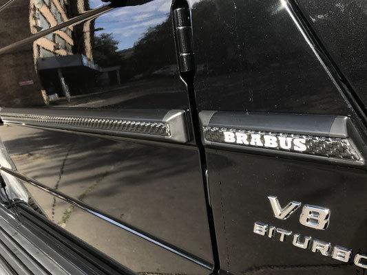 Вставки в молдинги  для Mercedes G-class