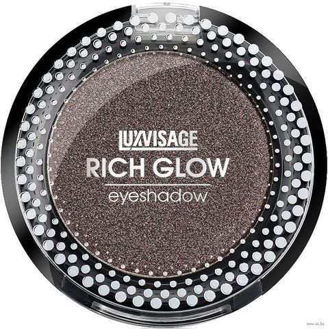 LuxVisage Тени компактные Rich Glow тон 10 mystic queen 2г