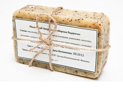 Скраб-мыло антицеллюлитное с водорослями, 100 г