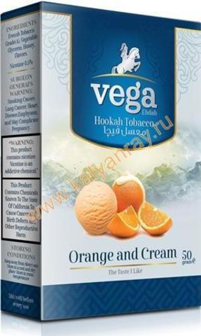 Табак Vega Апельсин с кремом в пачке 50 грамм