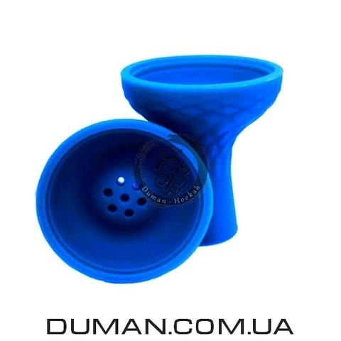 Силиконовая чаша для кальяна под Kaloud Lotus |Синяя