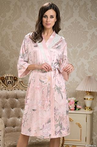 Женский шелковый халат  MIA-AMORE  EDEM  Эдем  5959