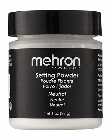 MEHRON Финишная пудра-закрепитель UltraFine Setting Powder, Neutral (Нейтральный), 28 г