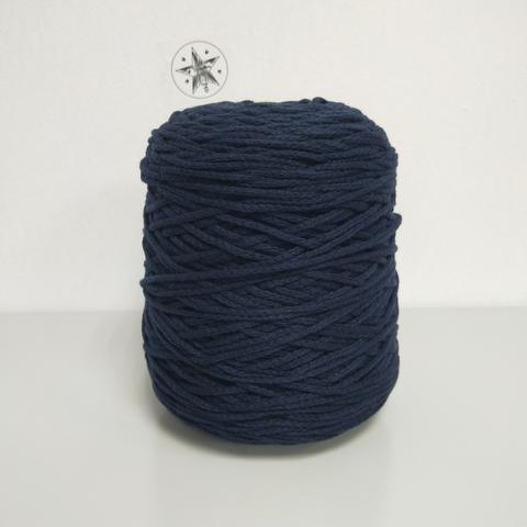 Manrico, Шнурок, Кашемир 100%, Темно-синий