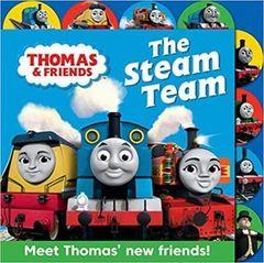 Thomas & Friends: The Steam Team : Tabbed board book