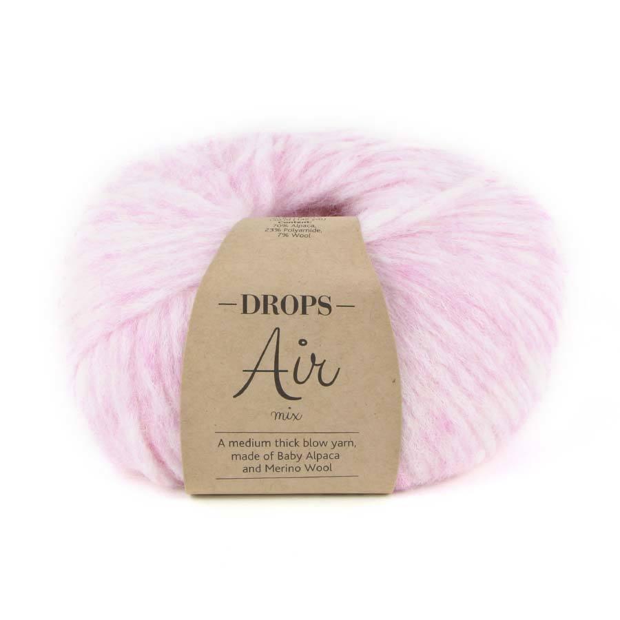 Пряжа Drops Air 08 нежно-розовый