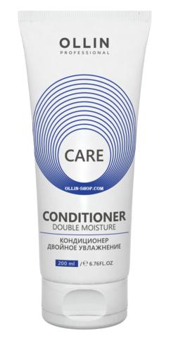 OLLIN care кондиционер двойное увлажнение  200мл/ double moisture conditioner