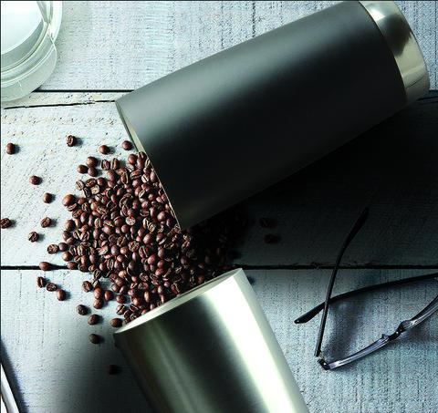 Термокружка Asobu Gladiator (0,6 литра), черная/стальная