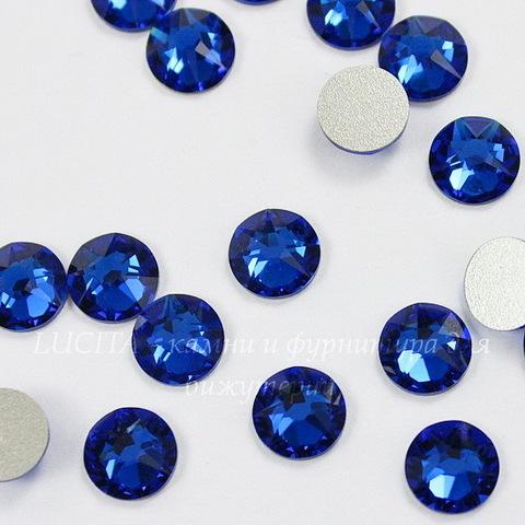 2088 Стразы Сваровски холодной фиксации Capri Blue ss 34 (7,07-7,27 мм)