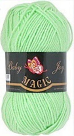 Пряжа Baby Joy (Magic) 5706 Нежно-зеленый фото
