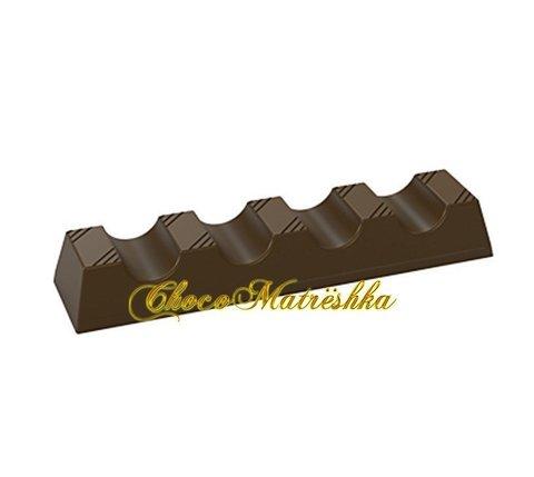 Форма поликарбонатная для шоколада - Батончик