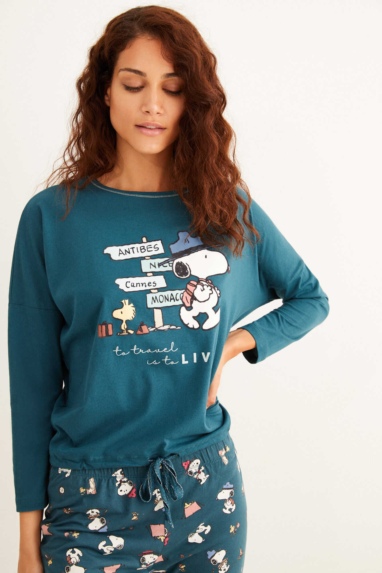 Длинная пижама Snoopy