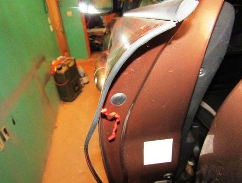 Уплотнитель кромки двери универсальный 7,5 м (белый)