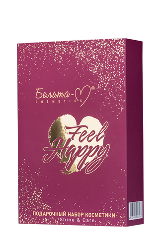 Белита-М Feel Happy Подарочный набор «Shine&Care» (арома-мист + крем-спрей д/тела)