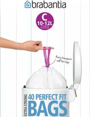 Пакет пластиковый 10/12л 40шт, артикул 361982, производитель - Brabantia