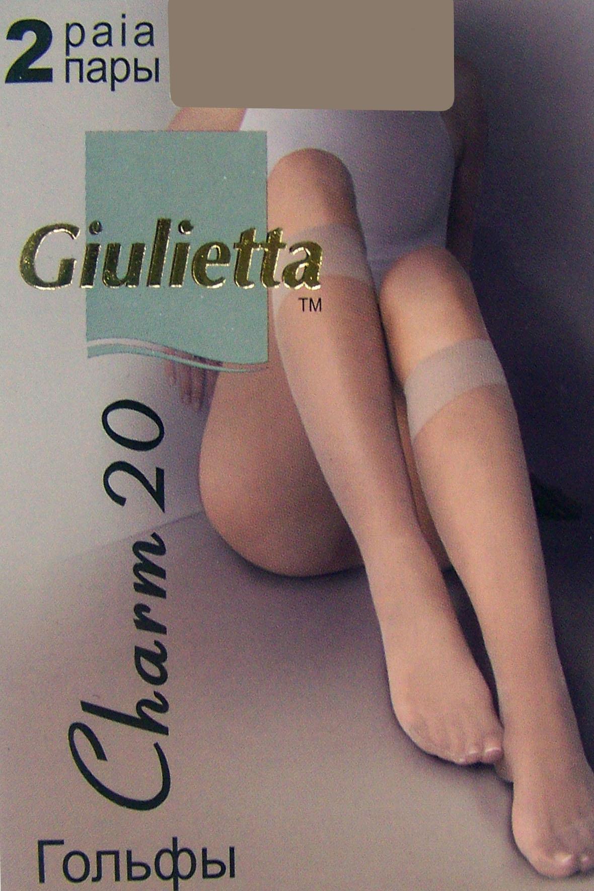 Гольфы Giulietta Charm (2 П.) 20