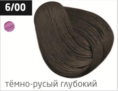 OLLIN color 6/00 темно-русый глубокий 60мл перманентная крем-краска для волос