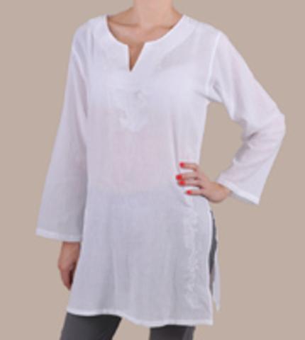 Туники женские XL цвет белый