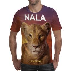 Футболка 3D принт, Король Лев (3Д The Lion King) Нала / Nala 02
