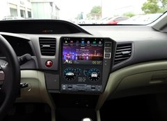 Магнитола   HONDA CIVIC IX 2012-2013 стиль Tesla Android 9.0 IPS DSP модель ZF 1030PX6