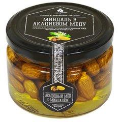 Миндаль в акациевом меду, 250 г