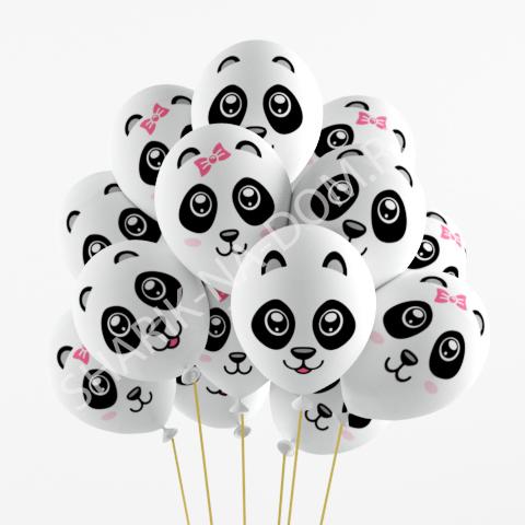 "Воздушные шары под потолок Воздушные шары ""Панды"" Шары_Панды.jpg"