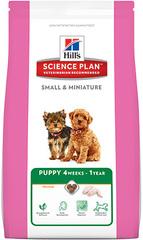 Корм для щенков мелких и миниатюрных пород Hill's Science Plan Puppy Small & Miniature, с курицей