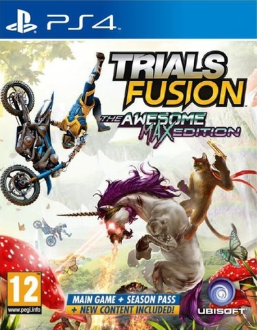 PS4 Trials Fusion. Awesome Max Edition (русская документация)