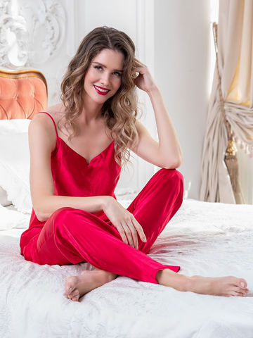 Комплект брючный 3 предмета Mia-Amore MARISIA МАРИСИЯ красный