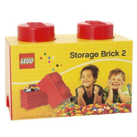 LEGO: Ящик для хранения игрушек 2 (красный)