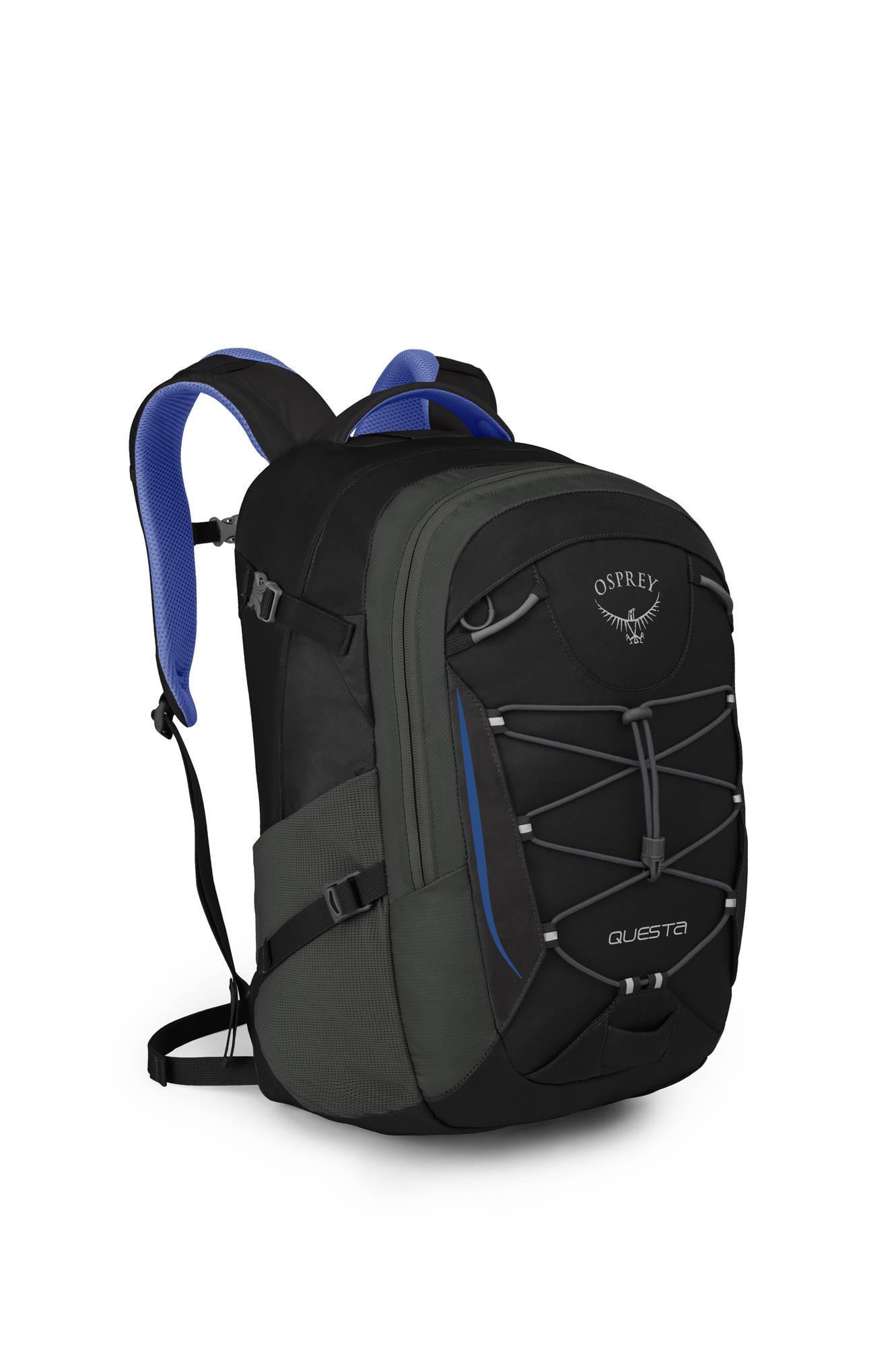 Городские рюкзаки Рюкзак женский Osprey Questa 27 Black Orchid Questa_27_Side_Black_Orchid_web.jpg