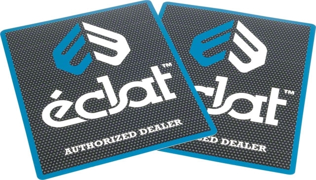 Наклейка Eclat Authorized Dealer 2019 ((мульти) арт: 33033020118)