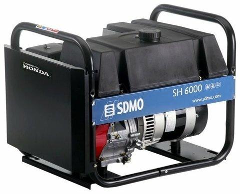Кожух для бензинового генератора SDMO SH6000-2 (6000 Вт)
