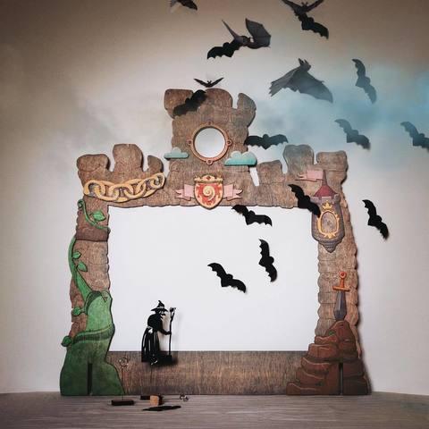 Домашний Театр теней - набор с семью сказками