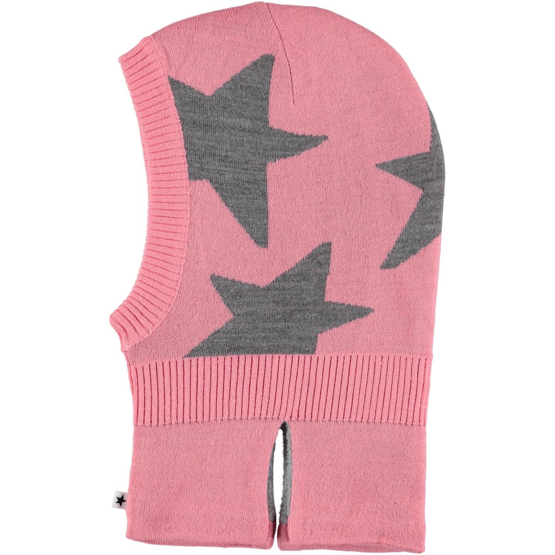 Шапка шлем Molo Bubble Pink