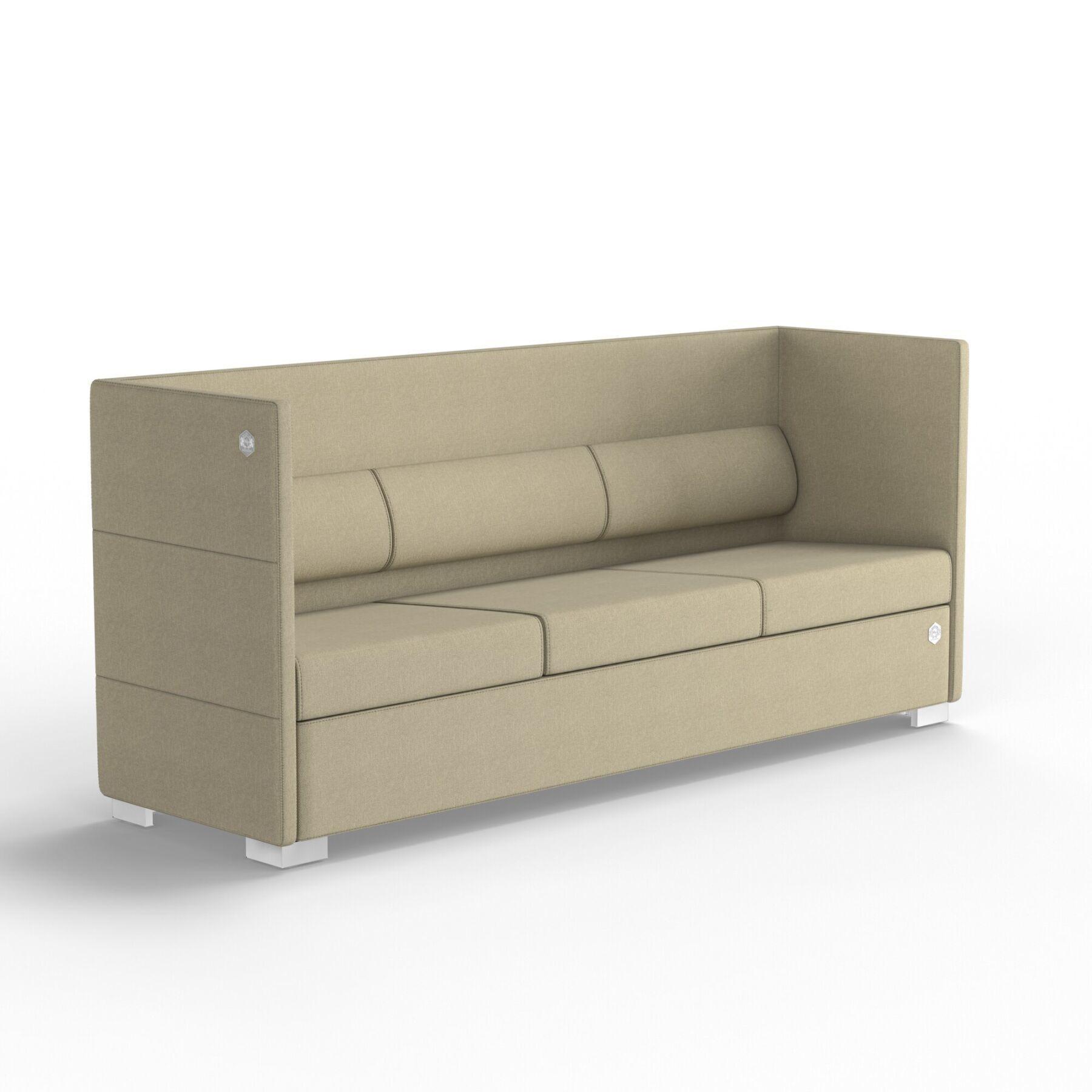Трехместный диван KULIK SYSTEM CONFERENCE Ткань 3