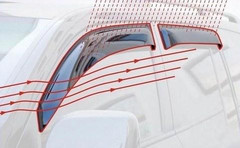 Дефлекторы окон MITSUBISHI LANCER IX седан (2003 - 2006 г.)
