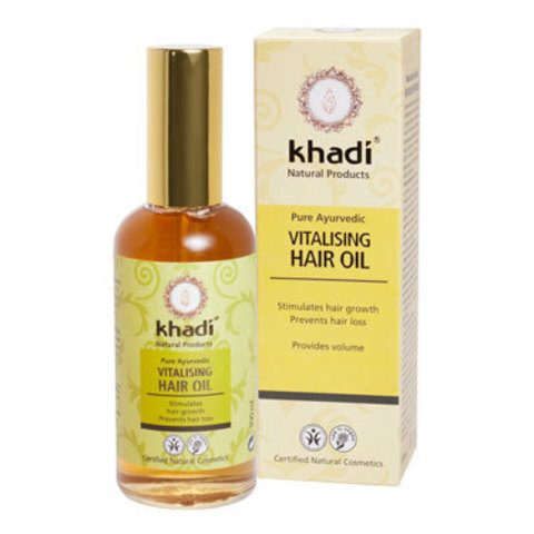 Масло для волос витализирующее Khadi Naturprodukte, 100 мл ДО 11.2020