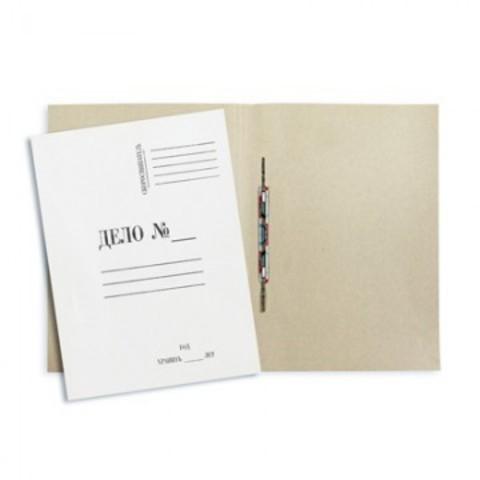 Скоросшиватель картонный Attache Дело № А4 до 200 листов белый (плотность 280 г/кв.м, 20 штук в упаковке)