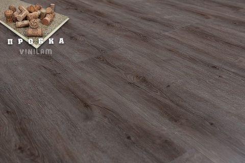 Кварц виниловый ламинат Vinilam New Prestige Gibrid Cork 10-038 Дуб Турне