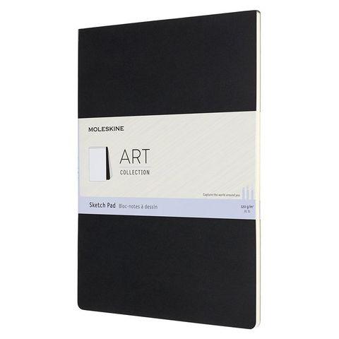 Блокнот для рисования Moleskine ART SOFT SKETCH PAD ARTSKPAD8 A4 88стр. мягкая обложка черный