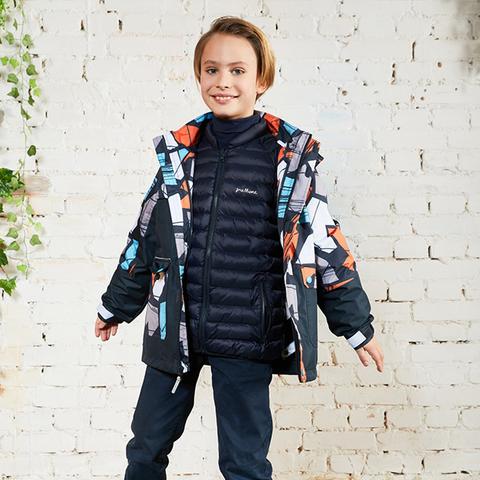 Premont демисезонная куртка Гурон Лэйк 3 в 1 SP72432 Black