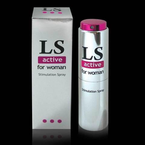 Спрей-стимулятор для женщин Lovespray Active Woman - 18 мл.