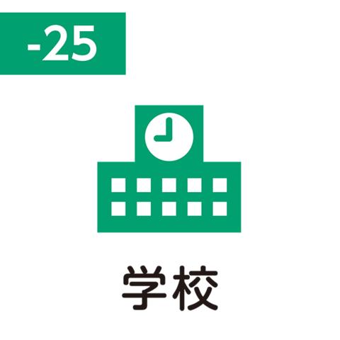 Pilot FriXion Stamp (学校 / gakkō / школа)