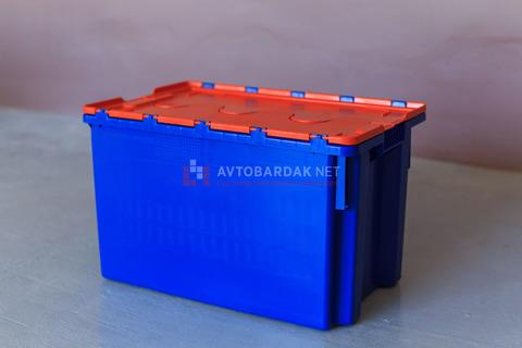 Ящик с раскидной крышкой 600х400 мм