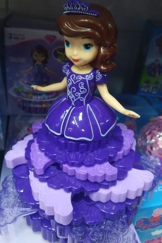 Музыкальная кукла №2 высотой 30 СМ